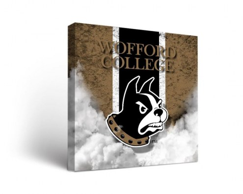 Wofford Terriers Vintage Canvas Wall Art