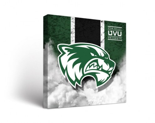 Utah Valley Wolverines Vintage Canvas Wall Art
