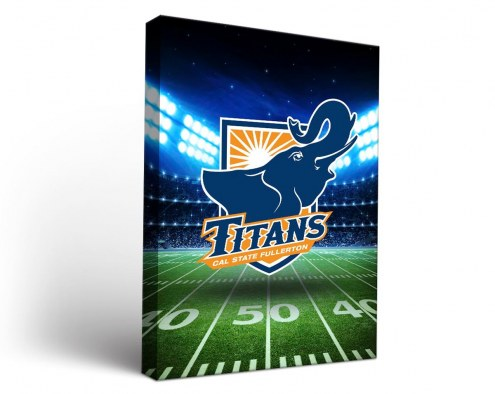 California State Fullerton Titans Stadium Canvas Wall Art