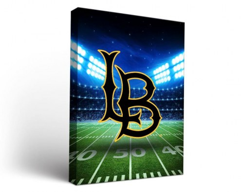 Long Beach State 49ers Stadium Canvas Wall Art