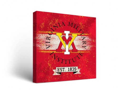 Virginia Military Institute Keydets Banner Canvas Wall Art