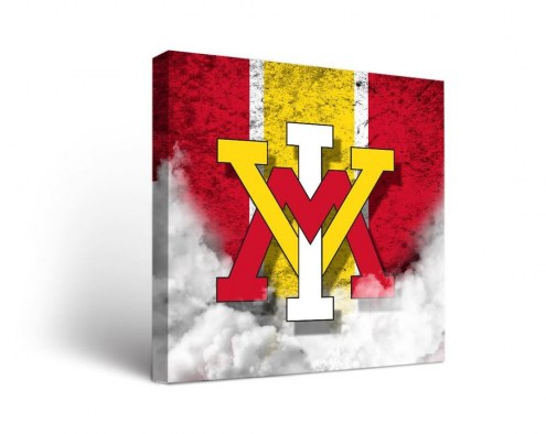 Virginia Military Institute Keydets Vintage Canvas Wall Art