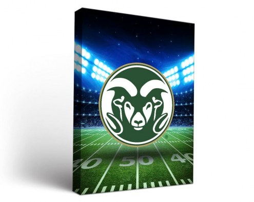 Colorado State Rams Stadium Canvas Wall Art