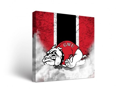 Gardner-Webb Bulldogs Vintage Canvas Wall Art