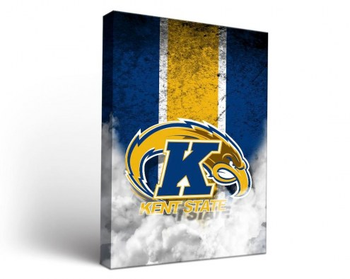 Kent State Golden Flashes Vintage Canvas Wall Art