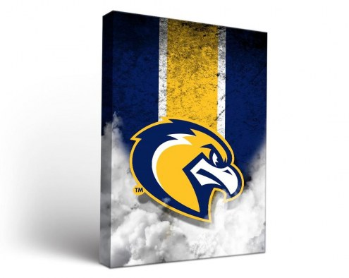 Marquette Golden Eagles Vintage Canvas Wall Art