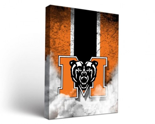Mercer Bears Vintage Canvas Wall Art