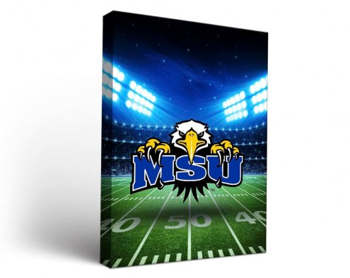 Morehead State Eagles Stadium Canvas Wall Art