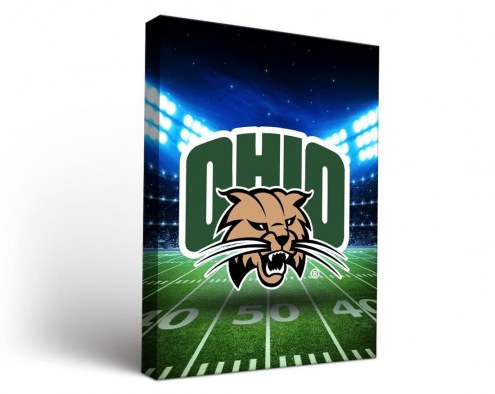 Ohio Bobcats Stadium Canvas Wall Art
