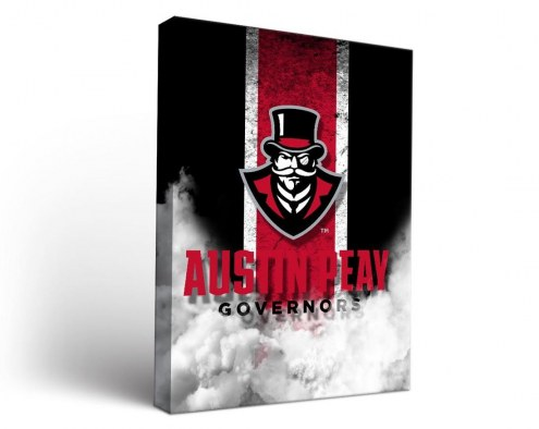 Austin Peay State Governors Vintage Canvas Wall Art
