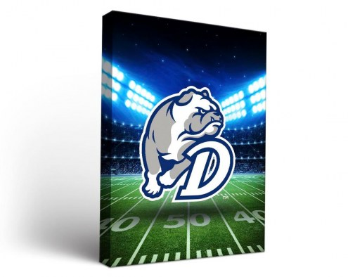Drake Bulldogs Stadium Canvas Wall Art