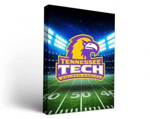 Tennessee Tech Golden Eagles Stadium Canvas Wall Art