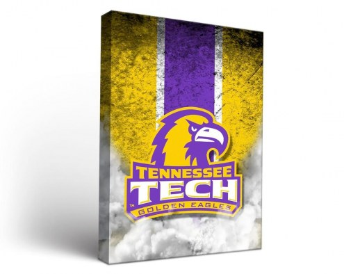 Tennessee Tech Golden Eagles Vintage Canvas Wall Art