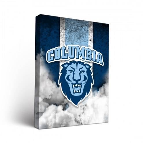 Columbia Lions Vintage Canvas Wall Art
