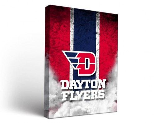 Dayton Flyers Vintage Canvas Wall Art