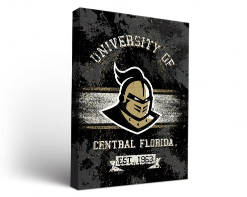 Central Florida Knights Banner Canvas Wall Art