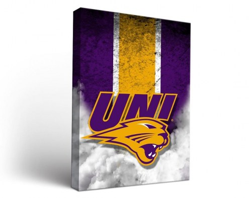Northern Iowa Panthers Vintage Canvas Wall Art