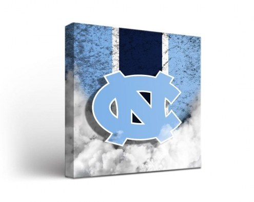 North Carolina Tar Heels Vintage Canvas Wall Art