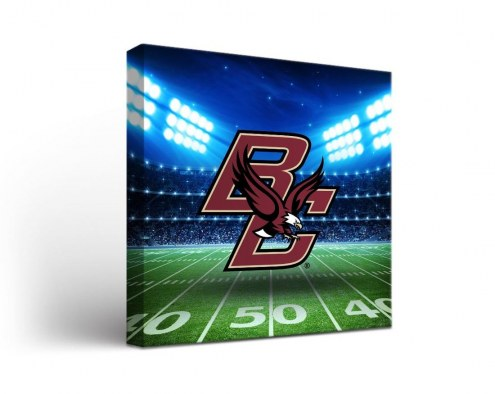Boston College Eagles Stadium Canvas Wall Art