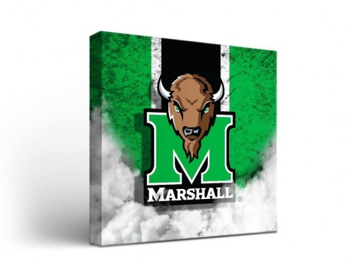 Marshall Thundering Herd Vintage Canvas Wall Art