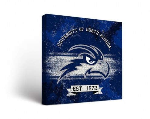 North Florida Ospreys Banner Canvas Wall Art