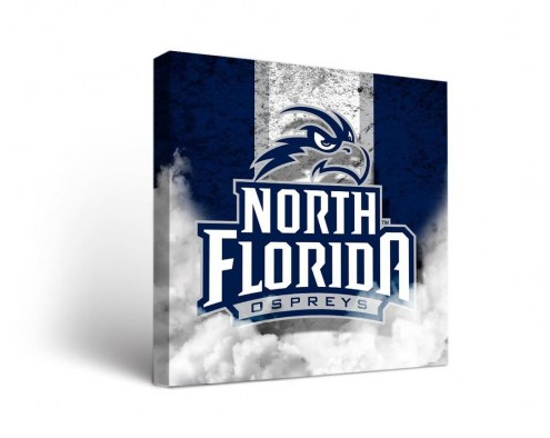North Florida Ospreys Vintage Canvas Wall Art