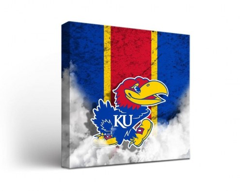 Kansas Jayhawks Vintage Canvas Wall Art
