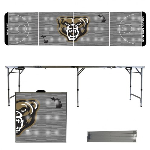 Oakland Golden Grizzlies Victory Folding Tailgate Table