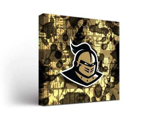 Central Florida Knights Fight Song Canvas Wall Art