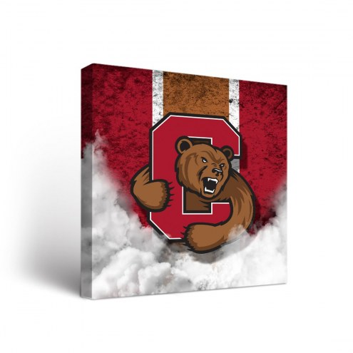 Cornell Big Red Vintage Canvas Wall Art