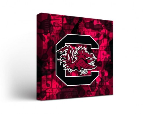 South Carolina Gamecocks Fight Song Canvas Wall Art