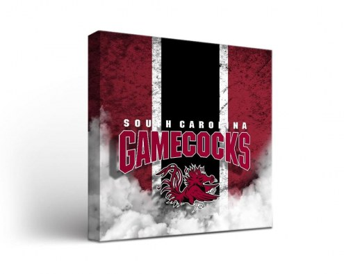South Carolina Gamecocks Vintage Canvas Wall Art