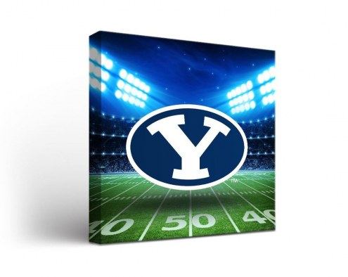 BYU Cougars Stadium Canvas Wall Art
