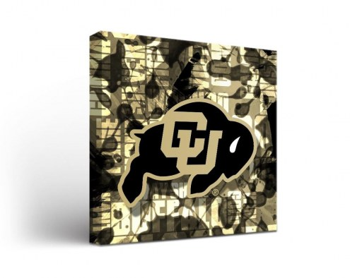 Colorado Buffaloes Fight Song Canvas Wall Art