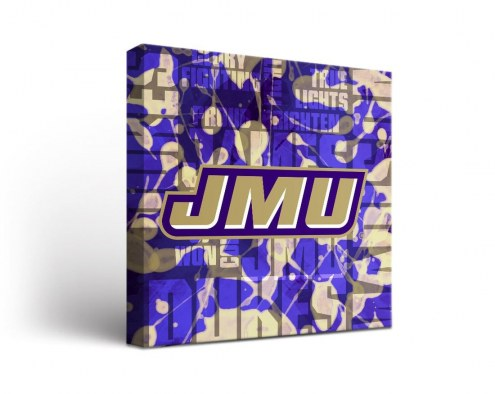 James Madison Dukes Fight Song Canvas Wall Art