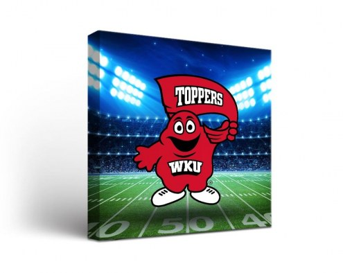Western Kentucky Hilltoppers Stadium Canvas Wall Art