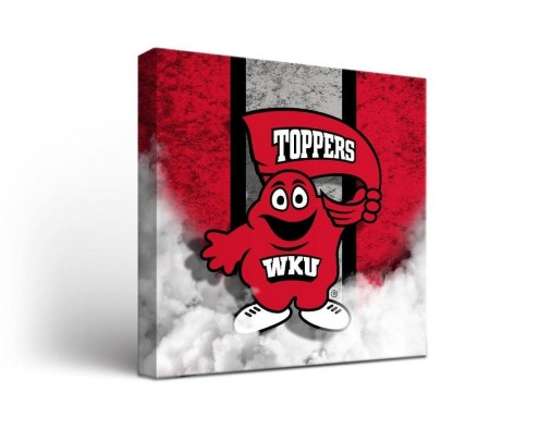 Western Kentucky Hilltoppers Vintage Canvas Wall Art