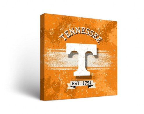 Tennessee Volunteers Banner Canvas Wall Art
