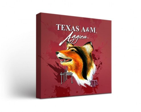Texas A&M Aggies Guy Harvey Canvas Wall Art