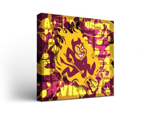 Arizona State Sun Devils Fight Song Canvas Wall Art