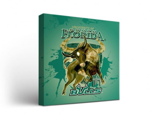 South Florida Bulls Guy Harvey Canvas Wall Art