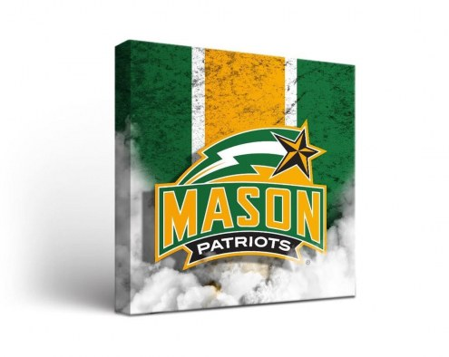 George Mason Patriots Vintage Canvas Wall Art