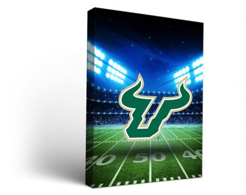South Florida Bulls Stadium Canvas Wall Art