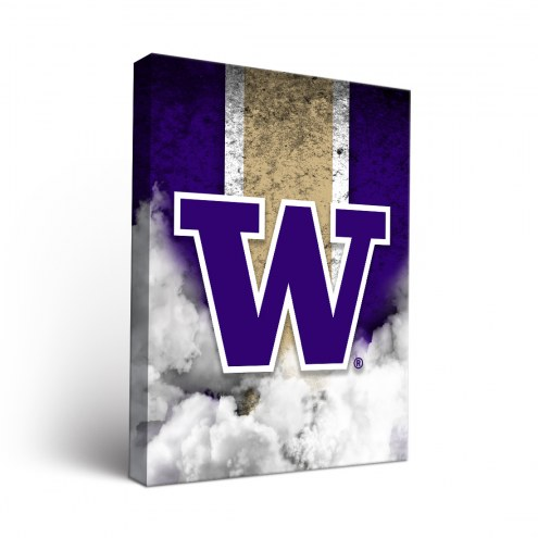 Washington Huskies Vintage Canvas Wall Art