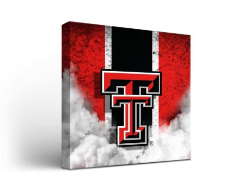 Texas Tech Red Raiders Vintage Canvas Wall Art