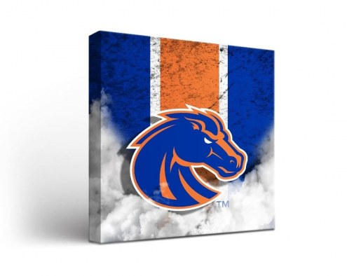 Boise State Broncos Vintage Canvas Wall Art