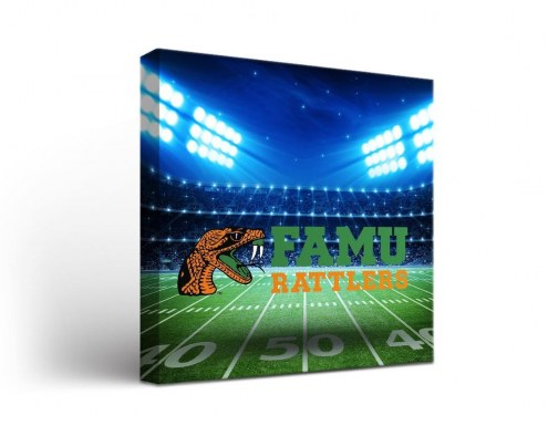 Florida A&M Rattlers Stadium Canvas Wall Art
