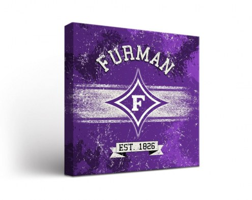 Furman Paladins Banner Canvas Wall Art