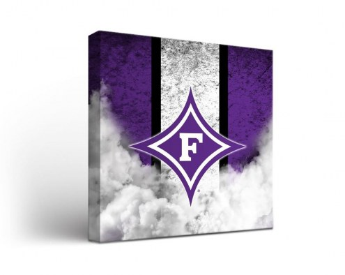 Furman Paladins Vintage Canvas Wall Art