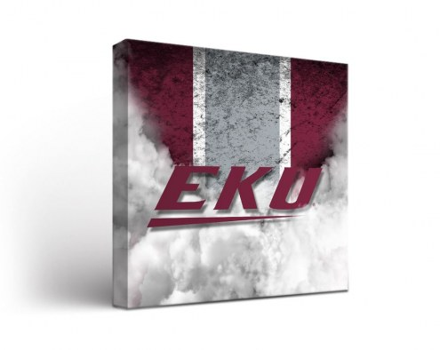Eastern Kentucky Colonels Vintage Canvas Wall Art